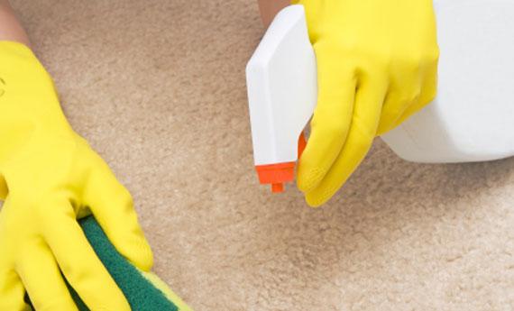 Come smacchiare il tappeto
